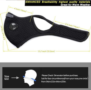 PM 2.5 Face Mask (WINDPROOF)