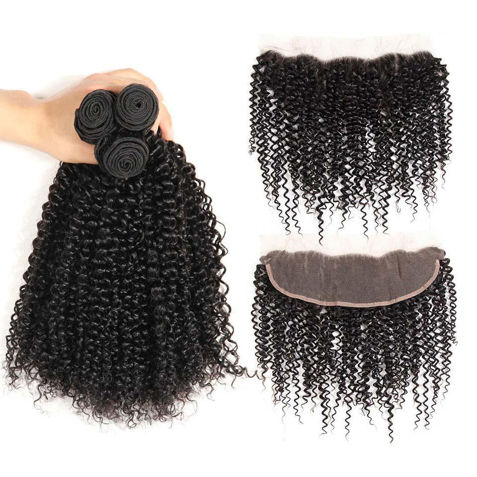 Grade Brazilian Human Hair Extension with Frontal,