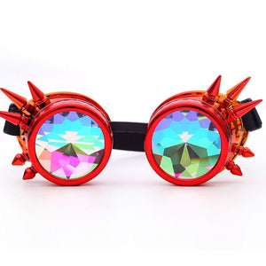 Hot New Men Women Welding Goggles Gothic Steampunk Cosplay Antique