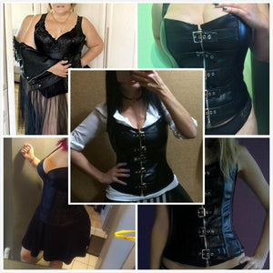 Wholesale Steampunk Corset Steel Boned Lace up Body Sexy Overbust