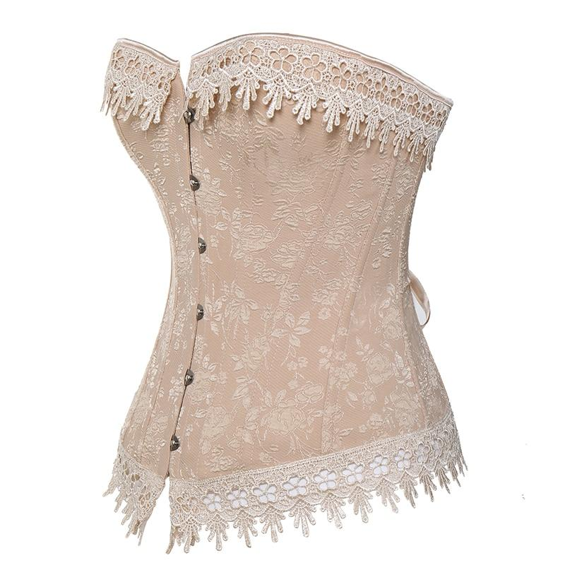 Steampunk Corsets Gothic Clothing for Women waist trainer Bustier