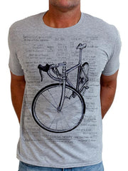 Cognitive Therapy Grey Mens Cycling Tshirt