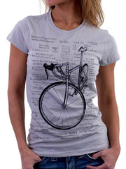 Cognitive Therapy Womens Grey Cycling Tee | Cycology Clothing