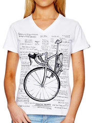 Cognitive Therapy White Womens Cycling T Shirt | Cycology Clothing