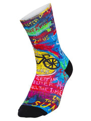 8 Days Blue Cycling Socks| Cycology Clothing AUST