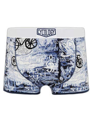 8 Days Navy Mens Bike Boxer Briefs | Cycology AUS