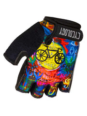 8 Days Blue Cycling Gloves | Cycology AUS