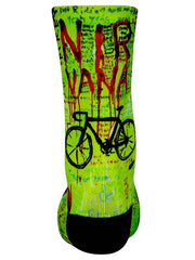 Nirvana Green Cycling Socks | Cycology AUS