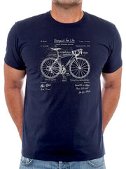 Blueprint Mens Tshirt | Cycology Clothing