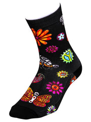 Boho Black Cycling Socks | Cycology AUS