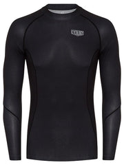 Cycology Mens Long Sleeve Black Cycling Base Layer | Cycology