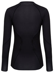 Cycology Womens Black Long Sleeve Cycling Base Layer | Cycology