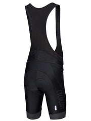 Mens Black Cycling Bib Shorts