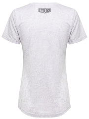 DNA Run Womens Technical T shirt Light Grey | Cycology Clothing