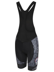 Day of the Living Black Women's Bibshorts