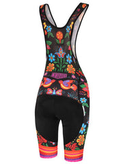 Frida Womens Cycling Black Bibshorts | Cycology AUS