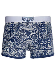 Feet in the Pedals Navy Boxer Briefs