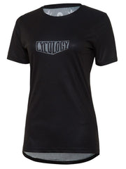 Flow Womens Black Technical T shirt | Cycology Clothing