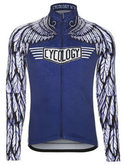 Free Flight Men's Blue Cycling Jersey
