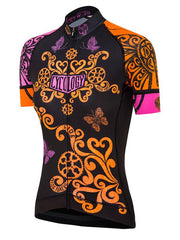 Free Your Mind Womens Black Cycling Jersey