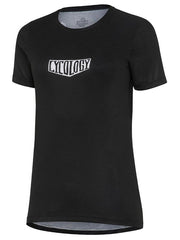 Freedom Womens Black Short Sleeve Technical T shirt | Cycology