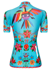 Frida (Aqua) Women's Cycling Jersey