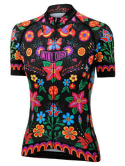 Frida Black Womens Cycling Jersey | Cycology Clothing AUS