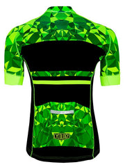 Geometric Lime Men's Jersey