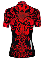 Isabella Womens Red Cycling Jersey