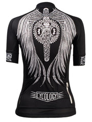 Flow Women's Cycling Jersey in black | Cycology Clothing