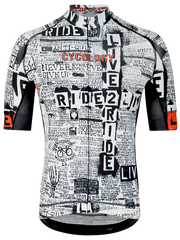 Live to Ride  メンズ  サイクルジャージ  Men's Cycling Jersey