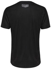 Live To Run Mens Black Technical Tshirt | Cycology Clothing