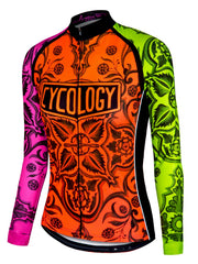 Marrakesh Womens Long Sleeve Cycling Jersey
