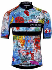 Rock N Roll Mens Blue Cycling Jersey | Cycology AUS