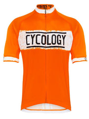 Miles are my Meditation (Orange) Men's Jersey - Relaxed Fit