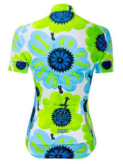 Pedal Flower (Green) Women's Jersey