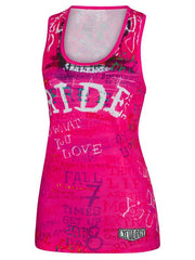Ride Womens Pink Technical Singlet | Cycology Clothing