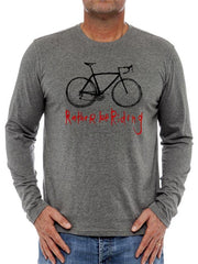 Rather Be Riding (Dark Grey) Long Sleeve