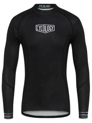 Spin Doctor Mens Black Long Sleeve Cycling Base Layer | Cycology