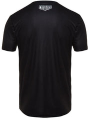 Train Hard Get Lucky Mens Black Technical T shirt | Cycology Clothing