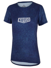 I-Tri Womens Navy Technical T shirt | Cycology AUS