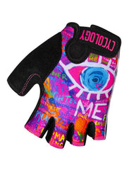 See Me Pink Cycling Gloves | Cycology Clothing AUS