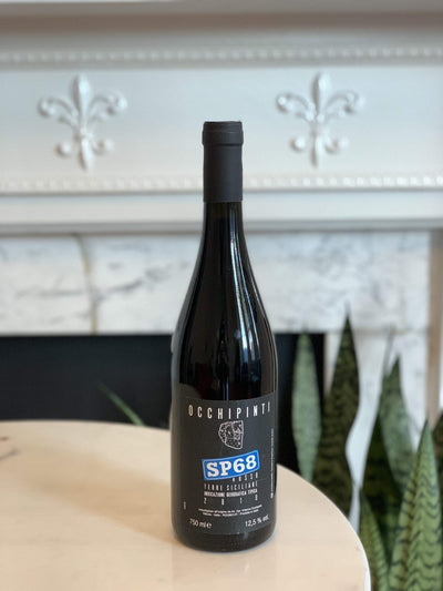 2018 Arianna Occhipinti, SP68 Rosso Mom 'n 'em Coffee & Wine Cincinnati Natural Wine and Coffee Shop