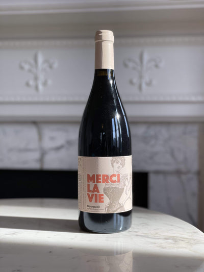 2018 Domaine L'oubliee, Bourgueil 'Merci La Vie' Mom 'n 'em Coffee & Wine Cincinnati Natural Wine and Coffee Shop