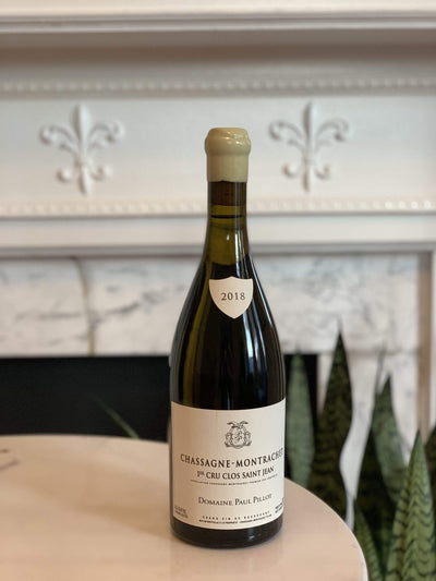 2018 Domaine Paul Pillot, Chassagne-Montrachet 'Clos Saint Jean' Mom 'n 'em Coffee & Wine Cincinnati Natural Wine and Coffee Shop