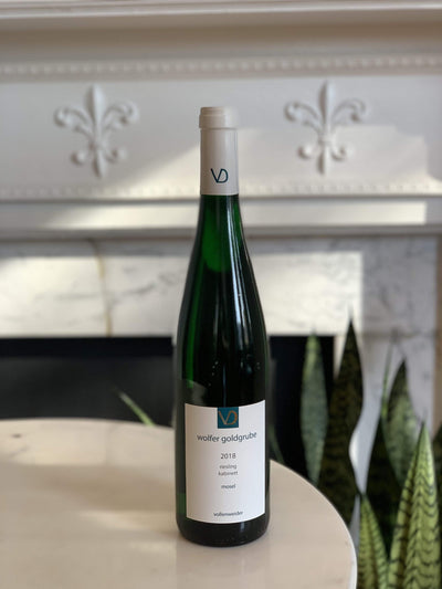 2018 Vollenweider, 'Wolfer Goldgrube' Kabinett Riesling Mom 'n 'em Coffee & Wine Cincinnati Natural Wine and Coffee Shop
