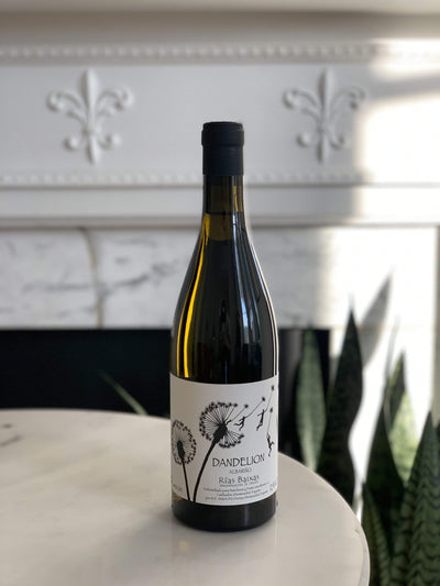 2019 Alberto Nanclares, 'Dandelion' Albariño Mom 'n 'em Coffee & Wine Cincinnati Natural Wine and Coffee Shop