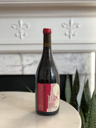 2019 Domaine de Saint Pierre, Le Rouge Mom 'n 'em Coffee & Wine Cincinnati Natural Wine and Coffee Shop