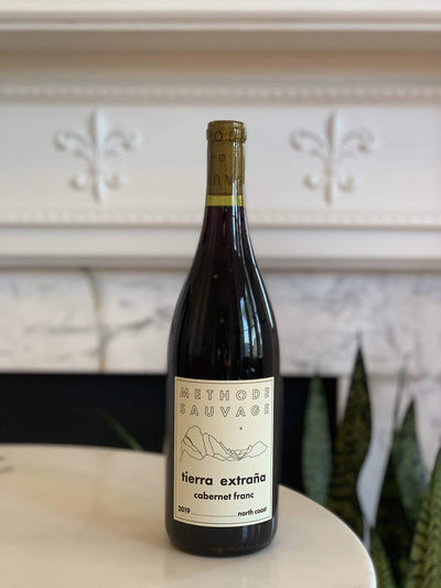 2019 Methode Sauvage, Cabernet Franc 'Tierra Extraña' Mom 'n 'em Coffee & Wine Cincinnati Natural Wine and Coffee Shop