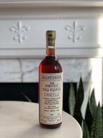 2019 Vini Rabasco, 'Cancelli' Rosato Mom 'n 'em Coffee & Wine Cincinnati Natural Wine and Coffee Shop